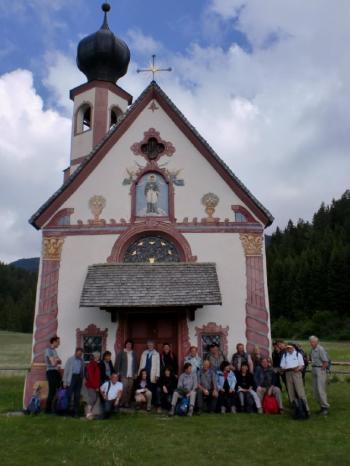 La blota capela de S.Johann Ranui